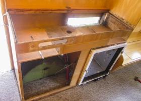 Die alte Küchenzeile