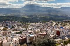 Chefchaouen im Norden Marokkos