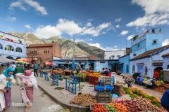 Chefchaouen Marokko Marktplatz