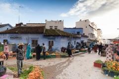 Chefchaouen Marokko Markt