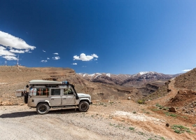 Unser Landy in Marokko