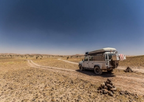 Marokko an der Grenze zu Algerien