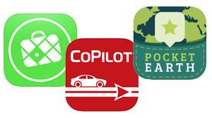 Reise Navigation mit Smartphone oder Tablet