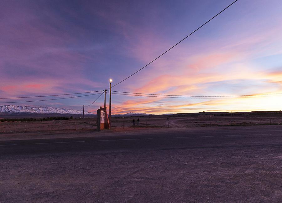 Bild des Tages: Sonnenuntergang in Marokko