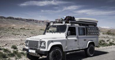 Unser Land Rover Defender 110 Galerie