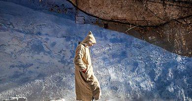 Bild des Tages: Marokkaner im Djellaba
