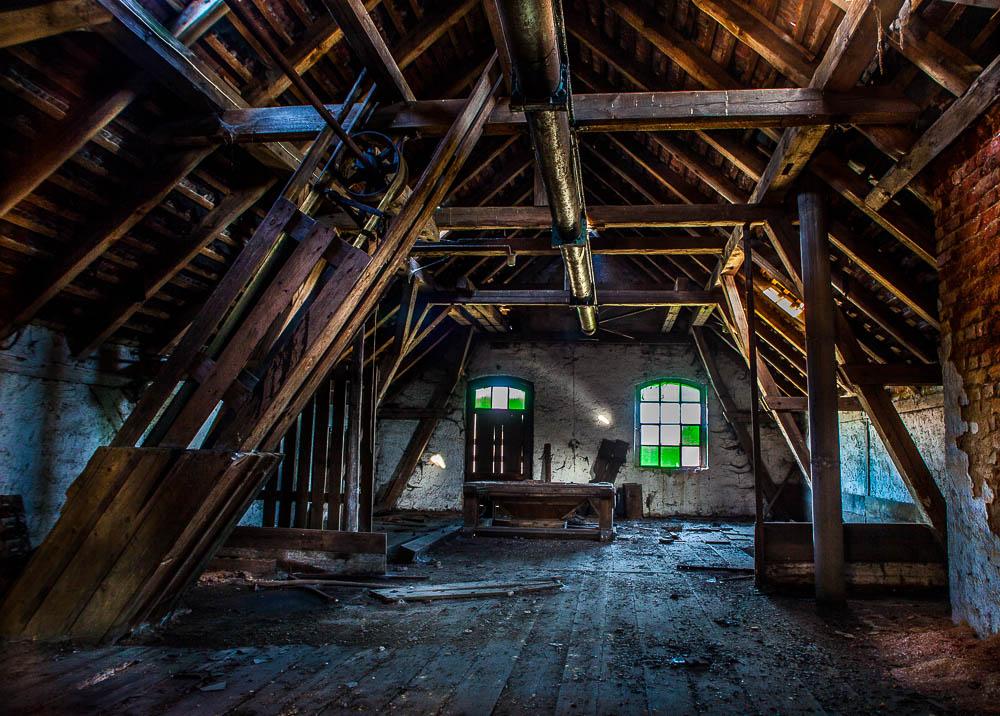 Lost Places - Alte Aufnahmen aus der Franz Brauerei in Waldsassen.