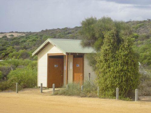 Clivus Multrum Toilettenhäuschen in Australien